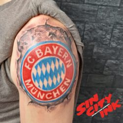 FC Bayern farbig