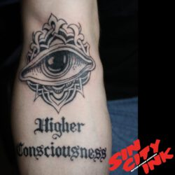Auge mit higher consciousness